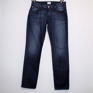 NWT Hudson Blake Slim Straight Zip Fly Jeans